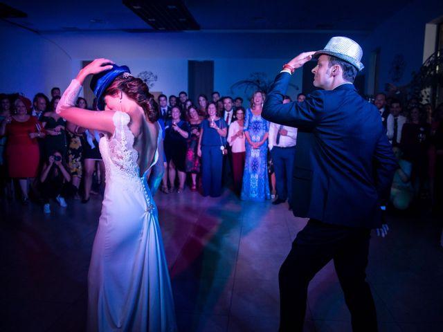 La boda de Juanmi y Eli en Ribera Del Fresno, Badajoz 46