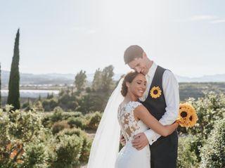 La boda de Saskia y Robert