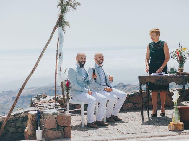 La boda de Perico y Airam en Tejeda, Las Palmas 25