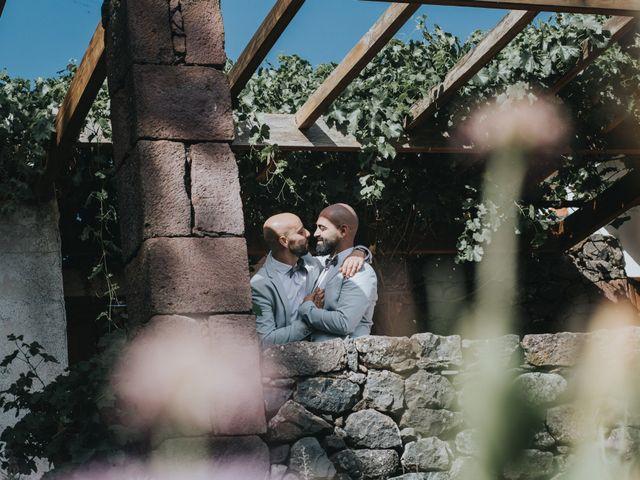 La boda de Perico y Airam en Tejeda, Las Palmas 36