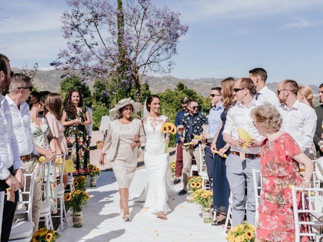 La boda de Robert y Saskia en Málaga, Málaga 52
