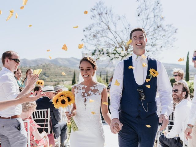 La boda de Robert y Saskia en Málaga, Málaga 84
