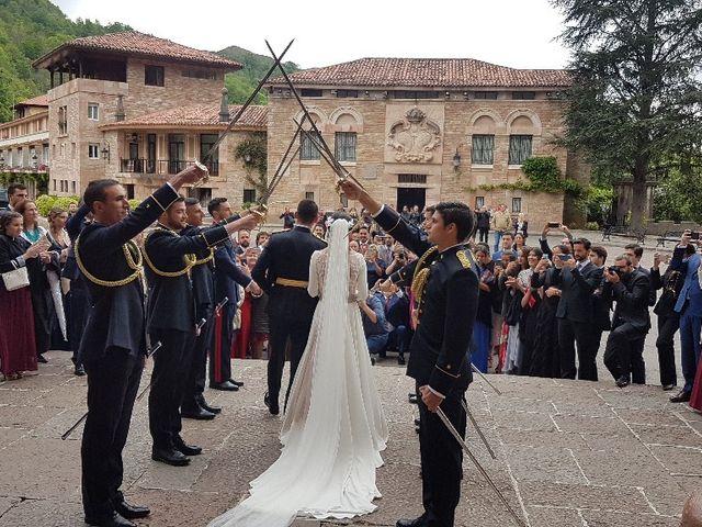 La boda de Gaizka y Laura en Covadonga (Cangas De Onis), Asturias 1