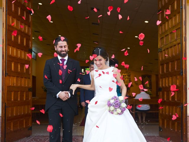 La boda de Miguel y Andrea en Mérida, Badajoz 16