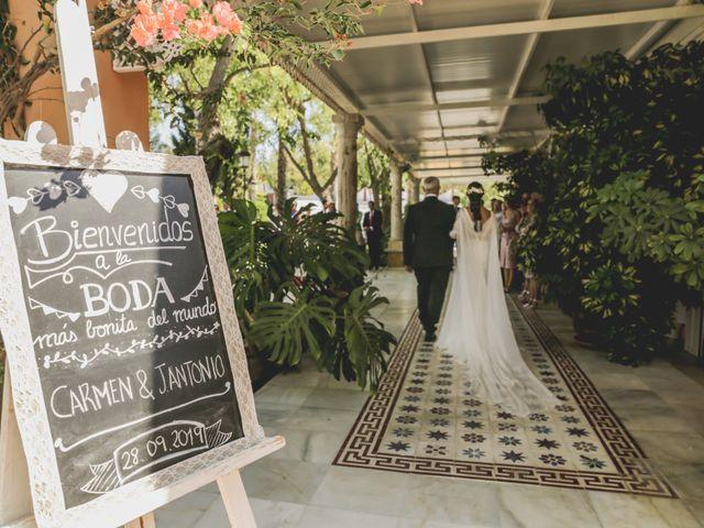 La boda de Jose Antonio y Carmen en Espartinas, Sevilla 25