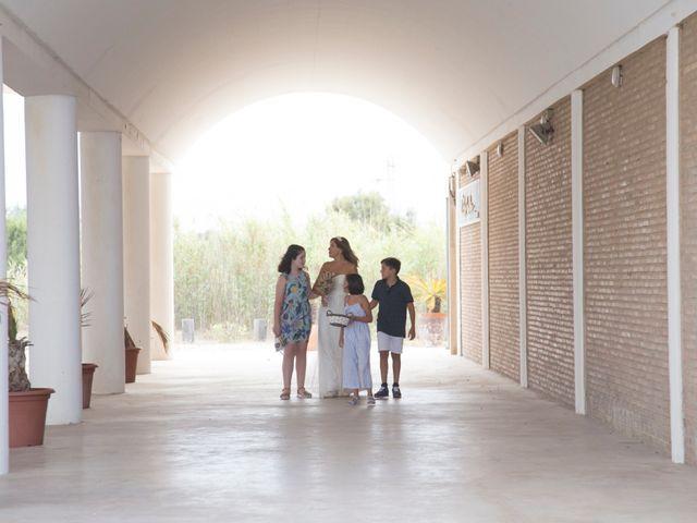 La boda de Andy  y Esther  en El Saler, Valencia 4