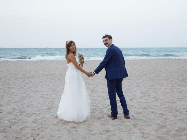 La boda de Andy  y Esther  en El Saler, Valencia 6