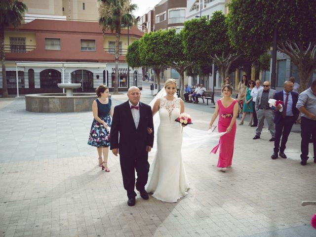 La boda de Daniel y Loli en Santa Maria Del Aguila, Almería 29