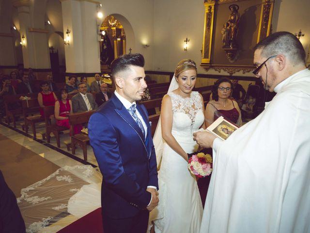 La boda de Daniel y Loli en Santa Maria Del Aguila, Almería 32