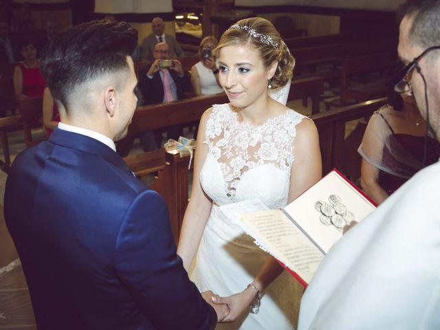 La boda de Daniel y Loli en Santa Maria Del Aguila, Almería 33
