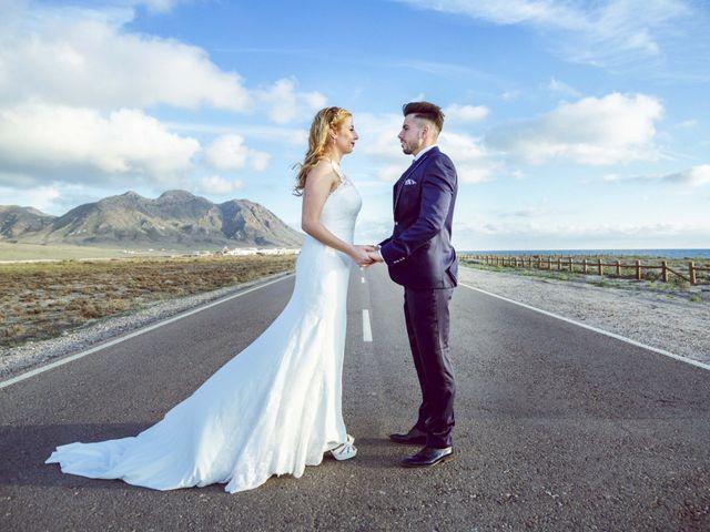 La boda de Daniel y Loli en Santa Maria Del Aguila, Almería 61