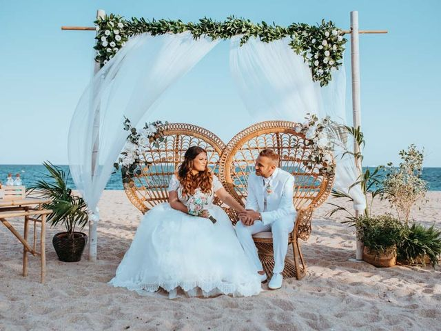 La boda de Álex y Sara en Malgrat De Mar, Barcelona 124