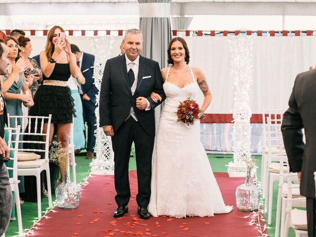 La boda de Jairo y Sarai en Alhaurin De La Torre, Málaga 30