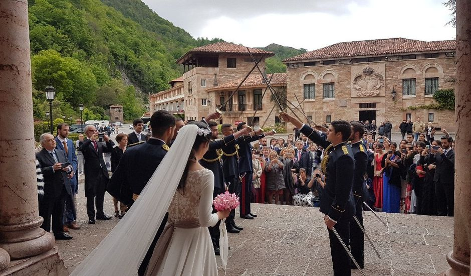 La boda de Gaizka y Laura en Covadonga (Cangas De Onis), Asturias