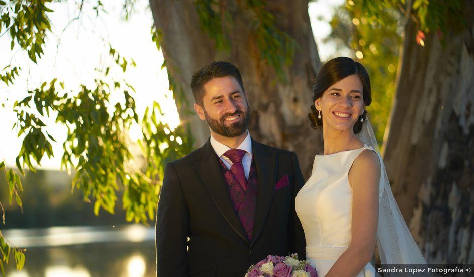 La boda de Miguel y Andrea en Mérida, Badajoz