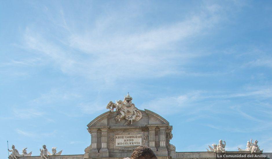 La boda de Daniel y Rosa en Madrid, Madrid