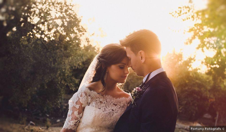 La boda de Victor y Ana en La Selva Del Camp, Tarragona