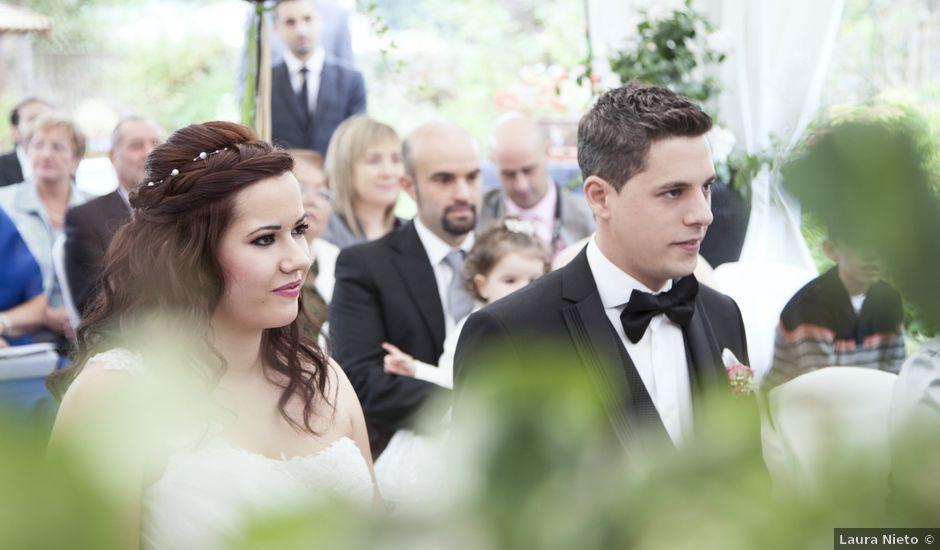 La boda de Rubén y Zuriñe en Lezama, Vizcaya