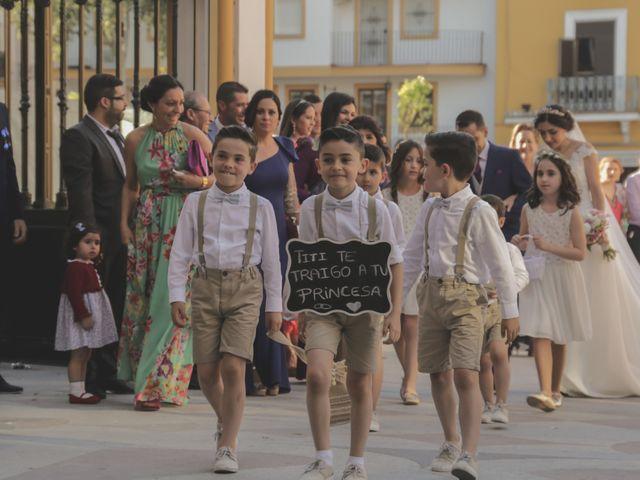 La boda de Javi y Espe en Bollullos De La Mitacion, Sevilla 28