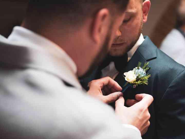 La boda de Anthony y Dean