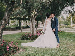 La boda de Yenmari  y Diego