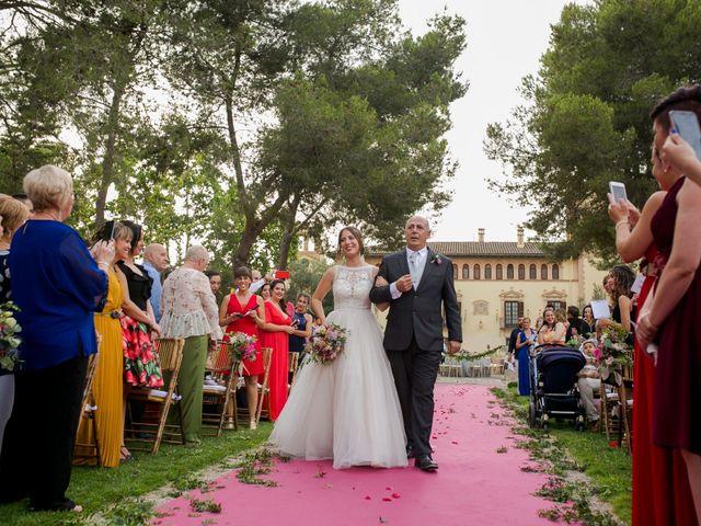 La boda de Vicent y Nerea en Riba-roja De Túria, Valencia 41
