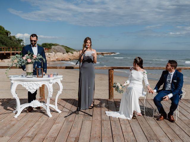 La boda de Adrián y Estefanía en Alcalà De Xivert, Castellón 36