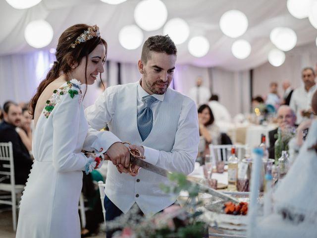 La boda de Adrián y Estefanía en Alcalà De Xivert, Castellón 91