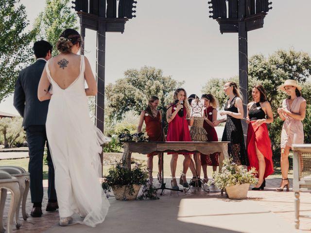La boda de Ale y Laure en Almorox, Toledo 69