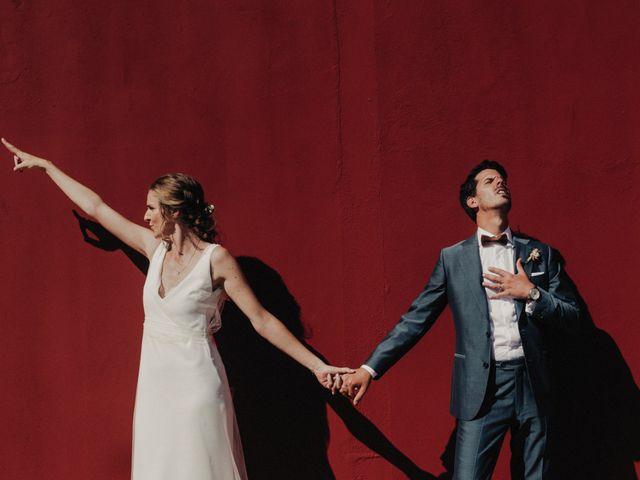 La boda de Laure y Ale