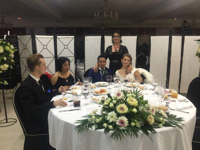 La boda de Karolina  y José