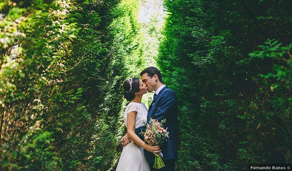 La boda de Rubén y Sandra en Cubas, Cantabria