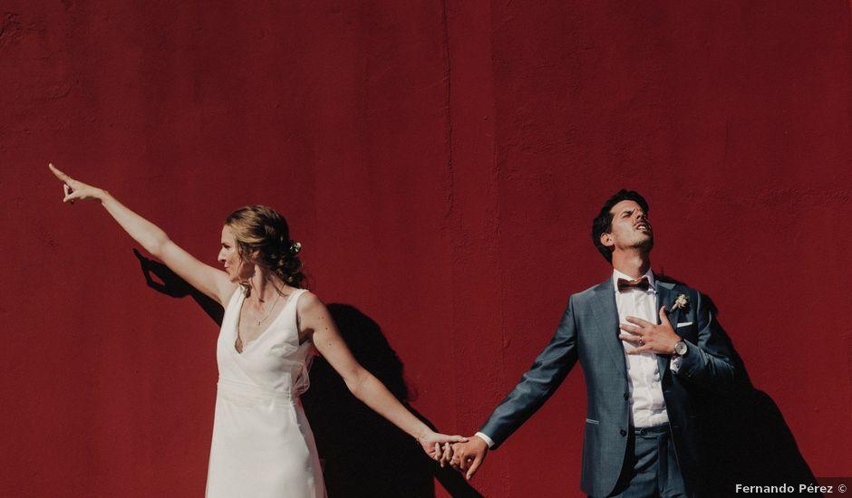 La boda de Ale y Laure en Almorox, Toledo