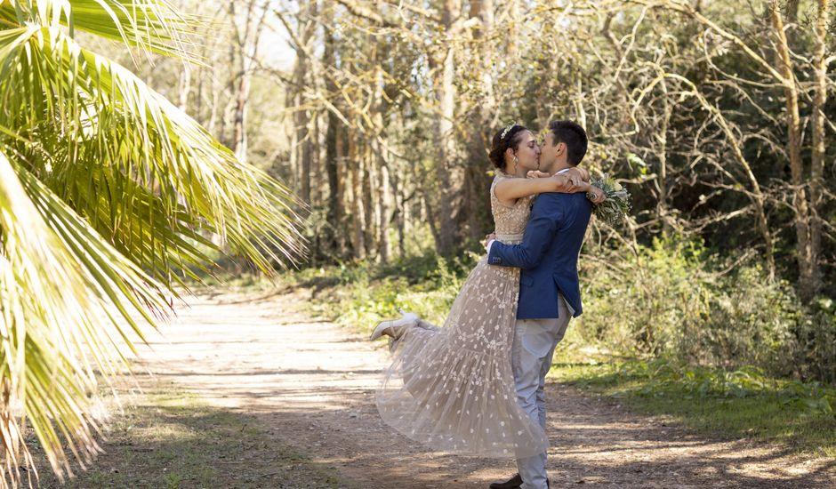 La boda de Ángel y Elisa en Campos, Islas Baleares