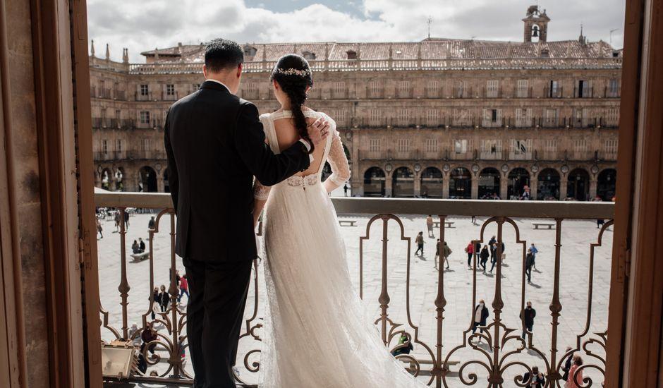 La boda de Pedro y Paloma en Salamanca, Salamanca