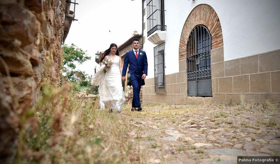 La boda de Antonio y Laura en Trujillo, Cáceres