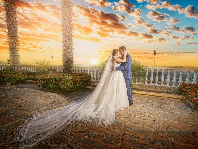 La boda de Julio y Cristina en Alhaurin El Grande, Málaga 1