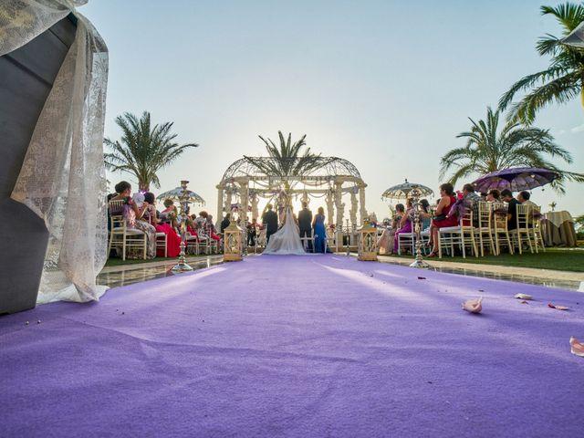 La boda de Julio y Cristina en Alhaurin El Grande, Málaga 33