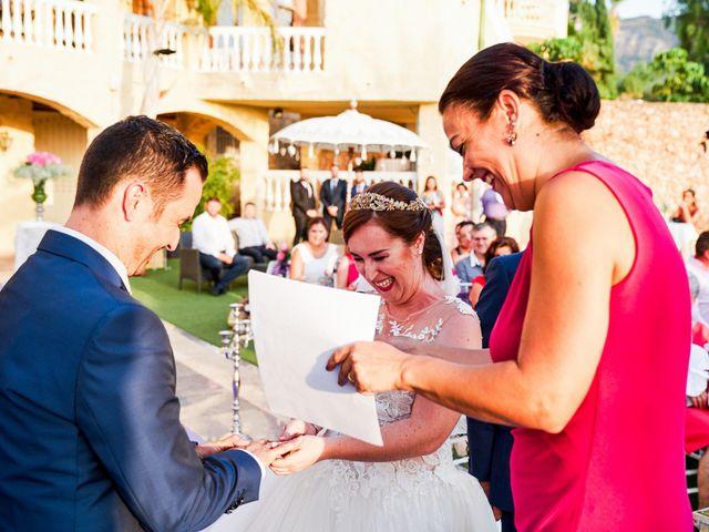 La boda de Julio y Cristina en Alhaurin El Grande, Málaga 54