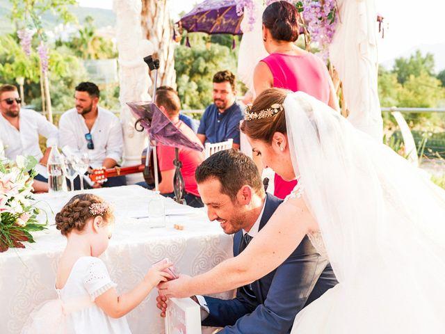 La boda de Julio y Cristina en Alhaurin El Grande, Málaga 55