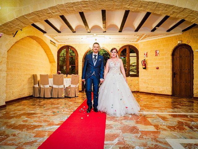 La boda de Julio y Cristina en Alhaurin El Grande, Málaga 60