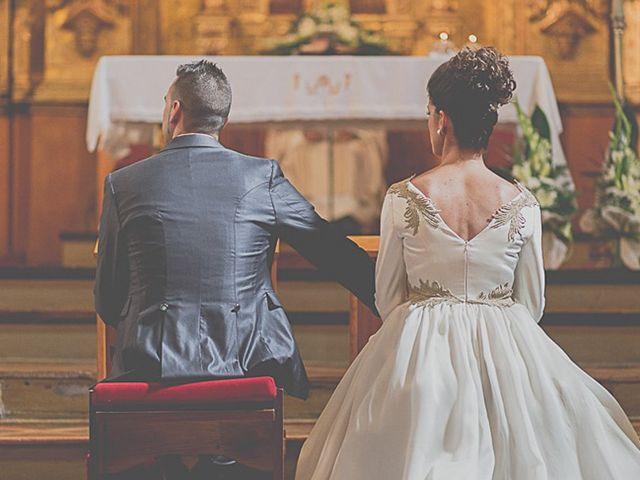 La boda de Josué y Maider en Arguedas, Navarra 1