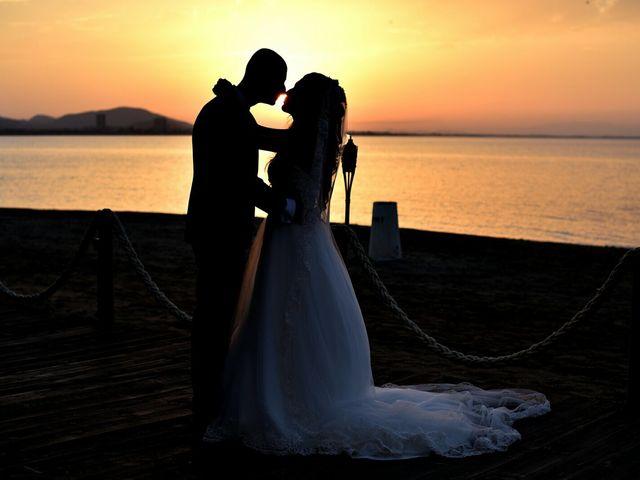La boda de Rubén  y Diana en La Manga Del Mar Menor, Murcia 1