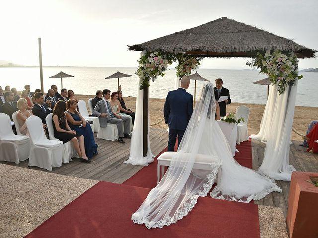 La boda de Rubén  y Diana en La Manga Del Mar Menor, Murcia 2
