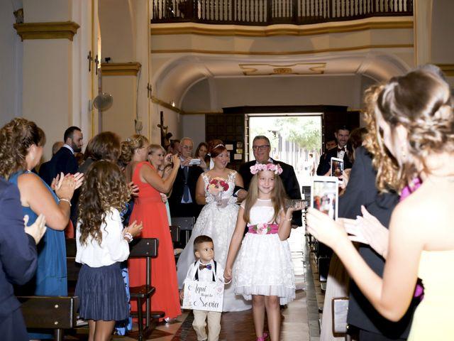La boda de Jose y Almudena en Villanueva Del Trabuco, Málaga 30