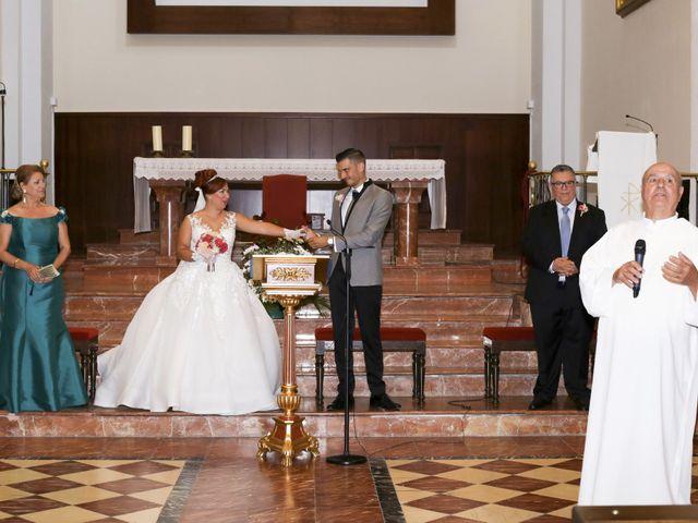 La boda de Jose y Almudena en Villanueva Del Trabuco, Málaga 31