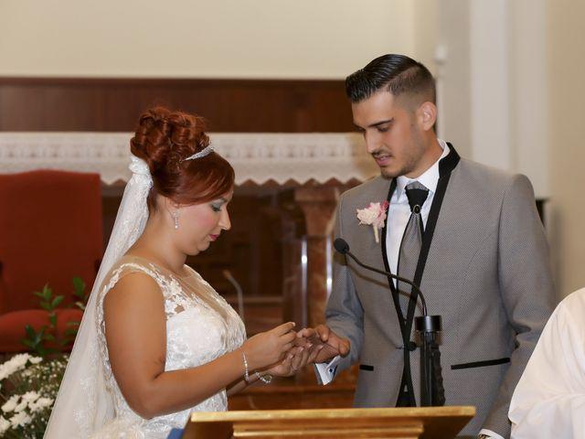 La boda de Jose y Almudena en Villanueva Del Trabuco, Málaga 36