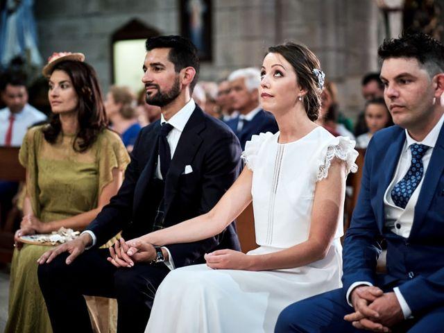 La boda de Miguel y Silvia en Outes, A Coruña 50