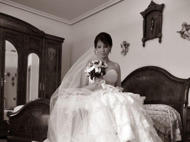 La boda de Aitor y Camino en Valdastillas, Cáceres 6