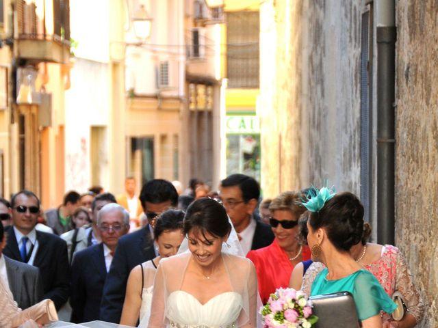La boda de Aitor y Camino en Valdastillas, Cáceres 7
